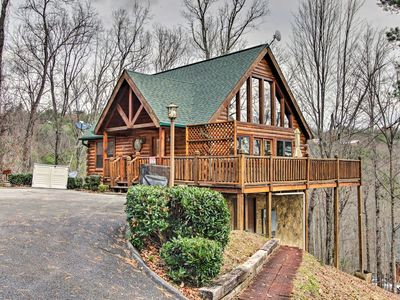 Photo for Hatcher Mtn Getaway - Sevierville Cabin w/ Hot Tub