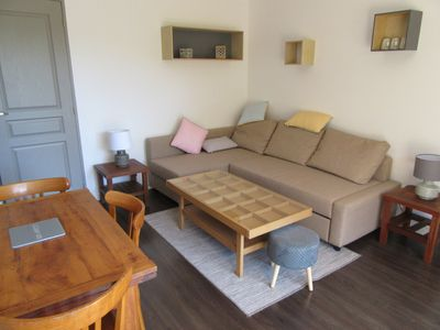 Photo for Hyères, seaside, cozy apartment, 5 min from the beach of almanarre