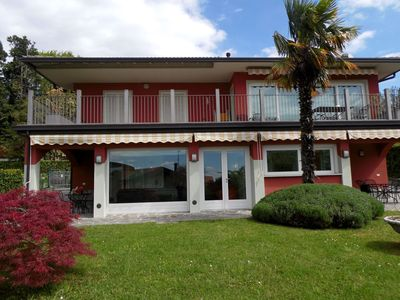 Photo for Nice apartment in a villa with three apartments, with private porch and garden