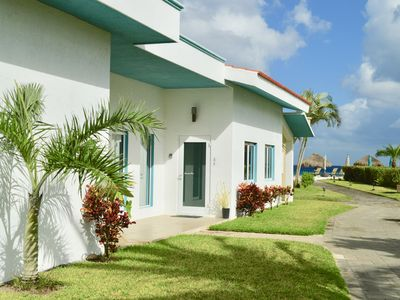 Photo for Steps to the beach in a private community + Free Deep Sea Fishing Trip