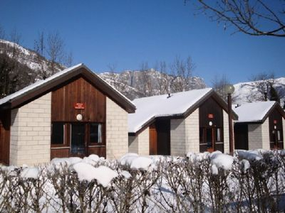 Photo for Camping Le Pas de l'Ours *** - Chalet 3 Rooms 4/6 People