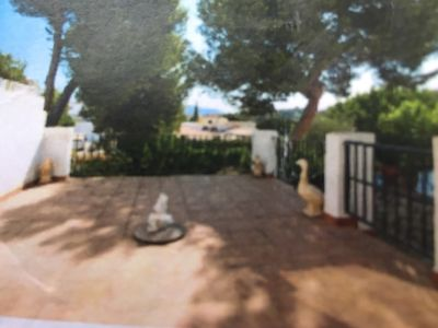 Photo for Delightful 3 bed duplex close to the heart of Moraira Town