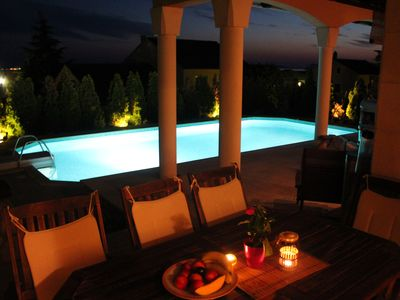 Photo for VILLA FANNY - Superb villa with sea view and swimming pool - 12 pers