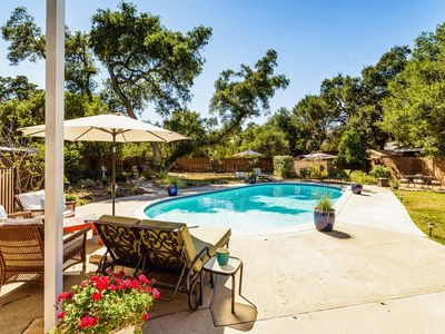 Photo for Brooke Haven, California indoor/outdoor living w/ Pool, Hot Tub & Fire Side Fun