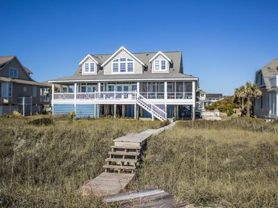 Photo for New for 2018 Dog Friendly! Sweet Tea is a 4 BR/ 3.5 BA Oceanfront Retreat!