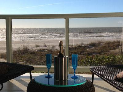 Photo for Beautiful, Intimate Direct Gulf Front Condo on Sweet Sugary Sands Indian Shores