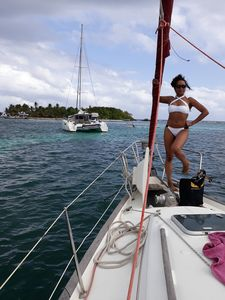 Photo for CRISIÈRES SAILING OR ACCOMMODATION BY SAILBOAT IN GUADELOUPE
