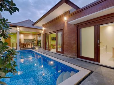 Photo for Modern Ethnic 2 Bedroom Villa in Canggu, Only Few Minutes Drive to Echo Beach!