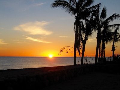Photo for Clean and Peaceful Beachfront Home . Minutes to Tres Palapas Pickleball Resort