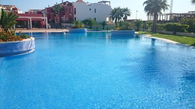 Photo for Apartment for 6 Golf Costa Esuri almost brand new super equipped terrace 30m2