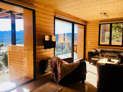 Photo for Apartment BOUQUETIN in new chalet with view of Lake Matemale sleeps 8