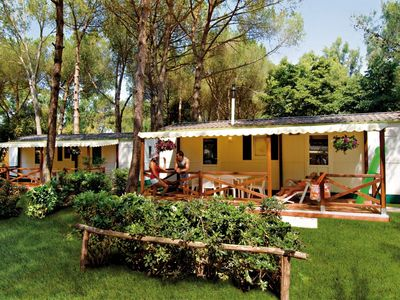 Photo for Modern furnished chalet on park with many facilities and beautiful private beach