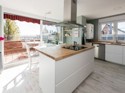 Photo for Beautiful duplex penthouse in the center of Majadahonda overlooking the skyline of Madrid.