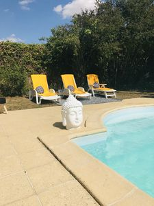 Photo for Taty Ginette house and guest table with pool