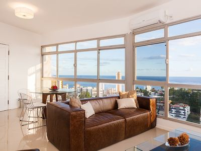 Photo for Beautiful, modern and spacious, each room comes with a stunning sea view.