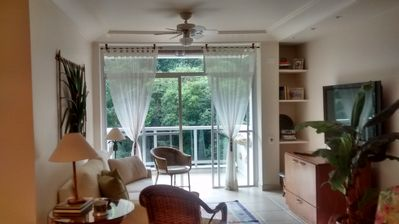 Photo for Apt well located and renovated, close to the beach, total leisure