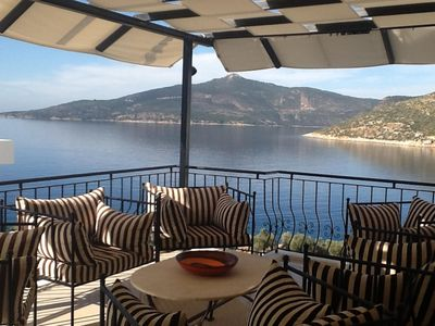 Relax and watch the world go by on the lounge terrace