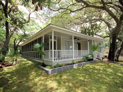 """Photo for Steps Outside Seaside """"Off the Hook"""" Renovated 3BR Ranch!"""