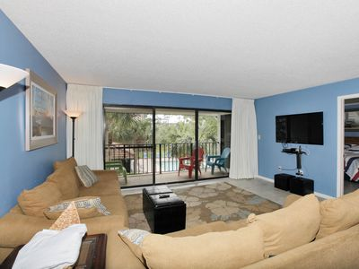 Photo for 20% OFF CLICK TO SEA! Edgewater GOLF COURSE VIEW! BEACH, POOLS GALORE & MORE!