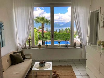 Photo for Vacation home Maison Rose in Porto Valtravaglia - 6 persons, 3 bedrooms