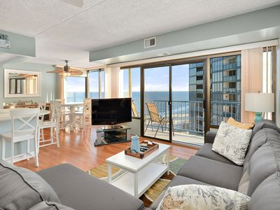 Photo for Beach Front Property with Incredible Views and an Indoor Pool!
