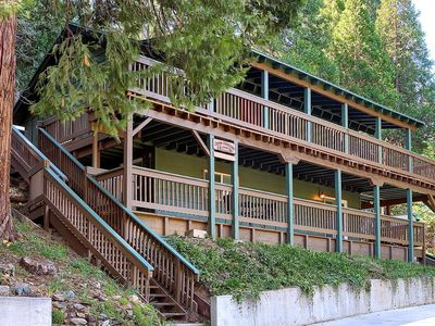 Photo for Modern, upgraded cabin located in highly desirable Sugar Pine community.