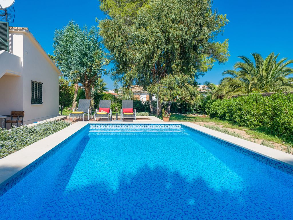 El Lago House For 6 With Swimming Pool 500 M From Alcudia Beach