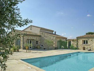 Photo for Welcoming Villa with Private Swimming Pool in Montfrin