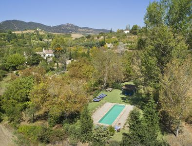 property viewed from the pool