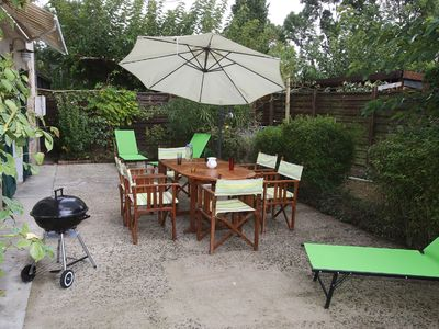 Photo for Cottage in the countryside, ground floor, pets welcome, disabled access, swimming pool