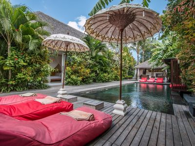 Photo for La Banane, 5 Bedroom Villa+Cook, Peaceful Tranquility, 5 mins from Seminyak.