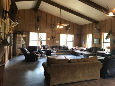 Photo for Private Ranch Headquarter Cabins Large Groups