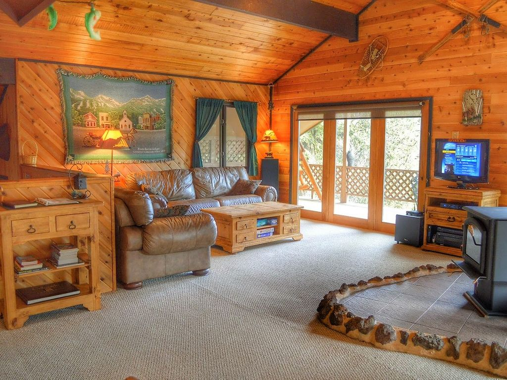 the willis retreat fairplay cabin on 8 secluded acres hot