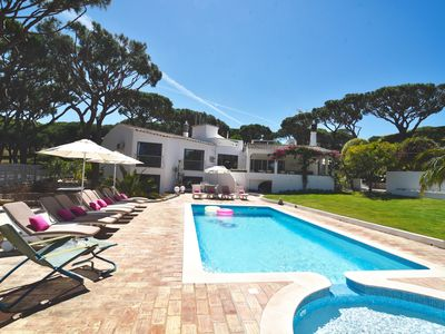 Photo for Vale Do Lobo 7 bedroom with separate cottage. Special rates for Sept/Oct  '19