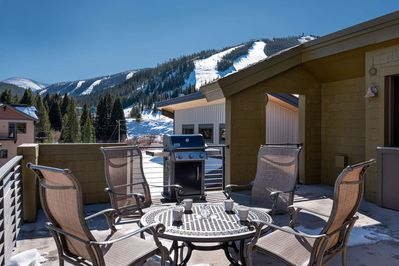 Soak in the sun from the rooftop deck with private gas grill