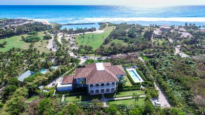 Photo for Contemporary Tuscan Manor in the Caribbean! Chef/Butler Included, Swimming Pool, AC, Free Wifi