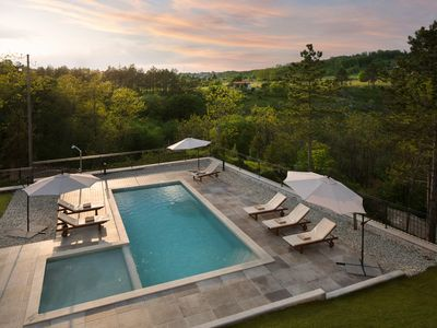 Photo for Holiday house with terrace and shared pool