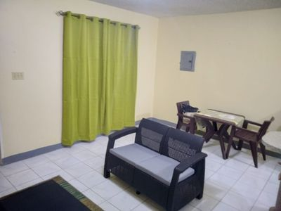 Photo for Peaceful 1 Bedroom ,Cozy apartment with WiFi/AC/Kitchen/Free Parking/hot water