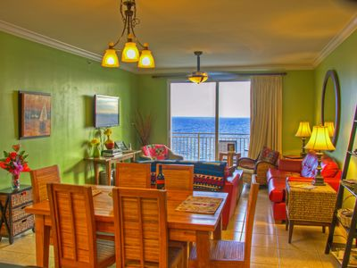 Photo for Splash Luxury Oceanfront, 2Br+2Ba+Bunk, Large 1400 Sqft, Free Beach Chair