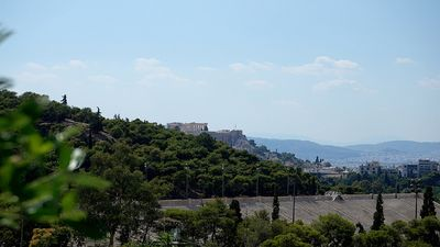 Photo for Family apartment with Acropolis view