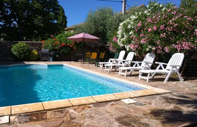 Photo for Large Village House in romantic setting in beautiful Occitanie