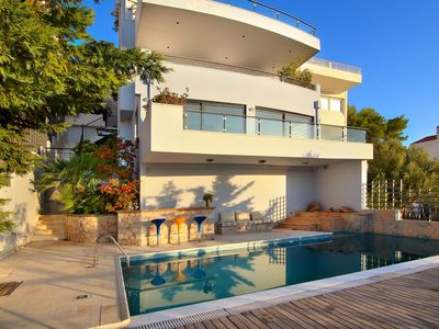 Photo for Athens Riviera 350 m2 Villa with Private Pool and Infinity Sea Views