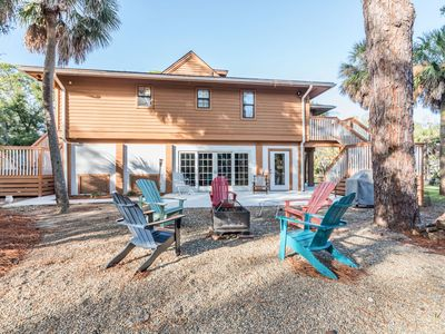 Photo for 10% Off Rates Through November 30th |Peaceful beach home w/golf cart, fire-pit & screened-in por