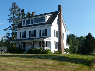 Photo for NEW: Farmhouse w/ Spectacular View of Mountains, Harbor on MDI