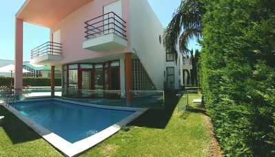 Photo for A Villa with pool in the first line of the Marina