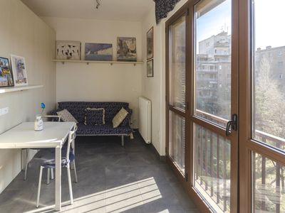 Photo for Pietramellara  apartment in Bologna with WiFi, integrated air conditioning, balcony & lift.