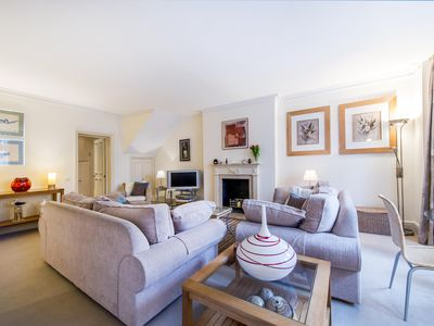 Photo for USD! 2 Bedrooms 2 Baths with Garden in Knightsbridge. Near the V&A and Harrods