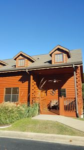 Photo for Rustic 3 Bedroom Log Cabin! Excellent Rates! Cabins at Grand Mountain in Branson