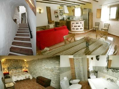 Photo for Casas Cueva El Mirador de Galera for 4 people