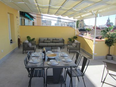Photo for Luxury Penthouse 3 Rooms, 3 Bathrooms & Terrace On Gran Via St